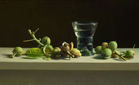 Walnuts and roman glass