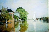Landscape near zaandam, 1872
