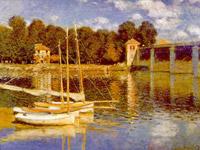 Le pont d'argenteuil, 1874