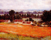 Fields of poppies, giverny