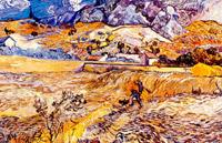 Paesaggio a san remy