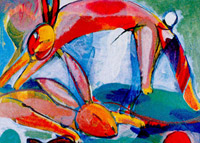 Hag hyena & cheerful hares