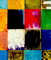 Salzburger mal und farbfeldbild