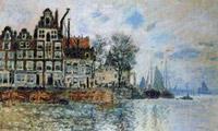 Gezicht op amsterdam, 1874