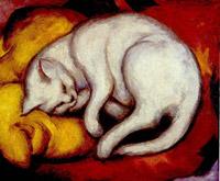 Die weisse katze, 1912