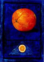 Apfelsine (donkerblau)