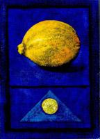 Zitrone (donkerblau)