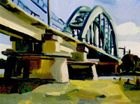Railway-bridge 'culemborg' 1997