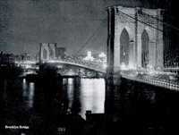 Brooklyn bridge, 1966
