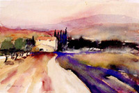 Road in the provence