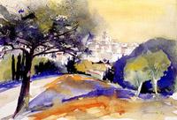 Meditteranean village