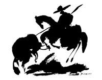 Bullfight I - horse air