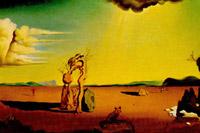 La femme nue dans le desert, 1948