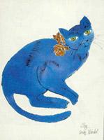Bleu cat