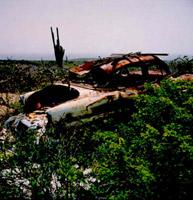 Curacao, autowrak II