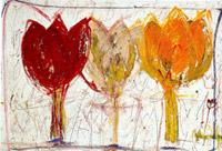Drei tulips