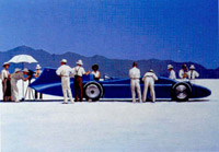 Bleubird at bonneville